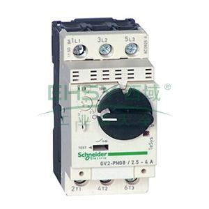 施耐德 电机保护断路器,GV2PM06C,热磁型