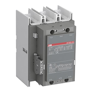 ABB交/直流通用线圈接触器,AF460-30-11(250-500VAC/DC)