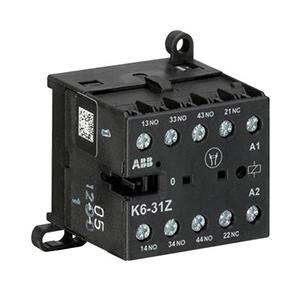 ABB 四极交流线圈中间继电器,K6-31Z-84