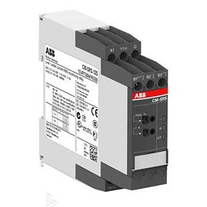 ABB监测继电器,CM-SRS.12S(24-240VAC/DC)