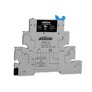 库顿 导轨安装型直流固态继电器,KSMD24D3-24D 3A 0-28VDC