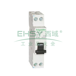 施耐德 微型漏电保护断路器,Acti9 iDPNa Vigi+ 4.5KA 32A,A9D91632