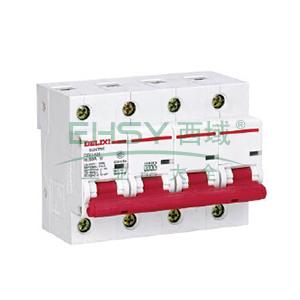 德力西 小型断路器,DZ47-125 4P C100A,DZ471254C100