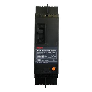 德力西DELIXI 塑壳漏电断路器,DZ15LE-100 2901 100A 300mA,DZ15LE1001002T