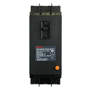 德力西DELIXI 塑壳漏电断路器,DZ15LE-100 3901 100A 50mA,DZ15LE1001003W