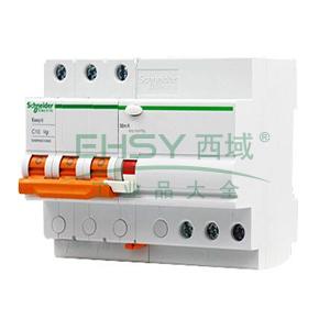 施耐德 Easy9微型漏电保护断路器 3P C63A/30mA/AC,EA9RN3C6330CNEW