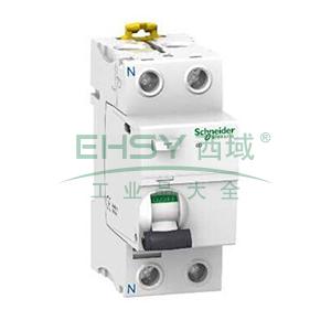 施耐德 微型漏电保护开关,Acti9 iID 2P 80A 30mA AC,A9R52280