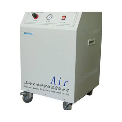 全浦大容量无油空气压缩机,QPA-08LP,流量:0-80L/min,无油,可以满足10-15台气相色谱仪,原子吸收仪使用