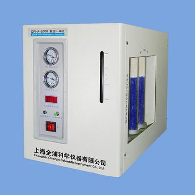 全浦氢空一体机,QPHA-500Ⅱ,流量:氢气:0-500ml/min;空气:0-5000ml/min
