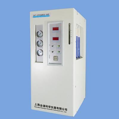 全浦氮氢空一体机,QPT-500G,流量:氮气:0-500ml/min;氢气:0-500ml/min;空气:0-5000ml/min