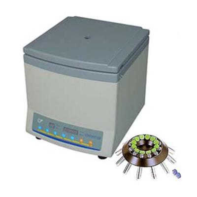 TXL-4.7细胞洗涤离心机,变频电机电脑控制,最高转速,4700转/分,标配含7ml×12角转子,安亭
