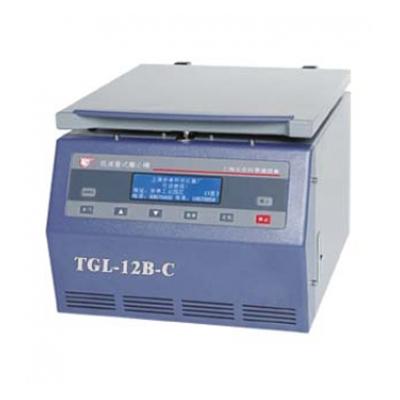 TGL-12B-C高速台式离心机,最高转速12000转/分,含水平式转子(24管),安亭