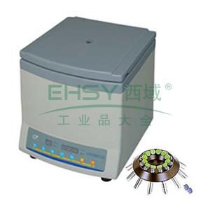 低速台式离心机(变频),6000转/分,最大离心力5200*g,安亭