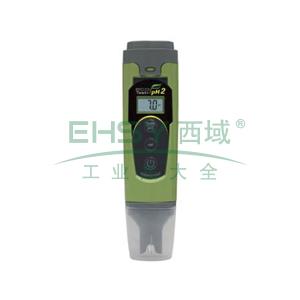 防水型pH/ORP测试笔,带ATC,精度为±0.1;pH:3点校正