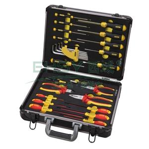史丹利工具箱,铝合金组合箱(图片只最作为展示使用,实物中不包含工具和工具托),95-281-23