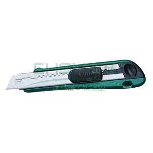 世达金属美工刀,18mm工业级(内附5片刀片),93430