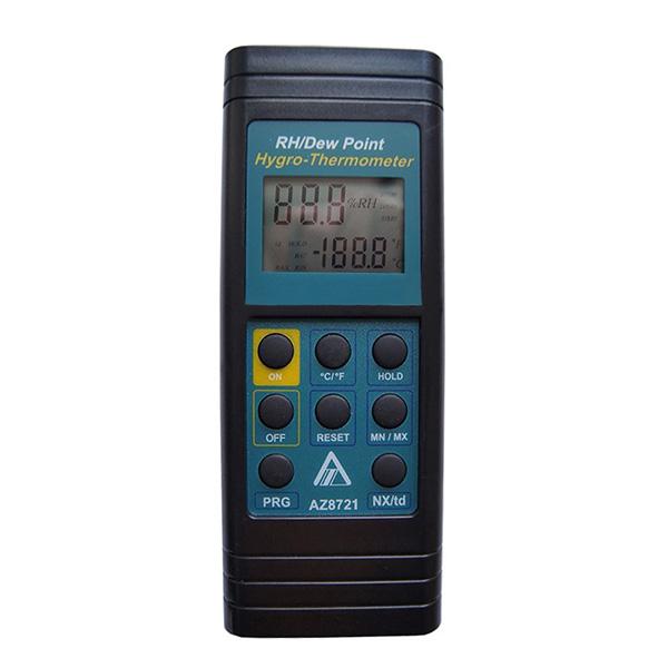 衡欣/AZ 温湿度计,带声音警报,AZ8721
