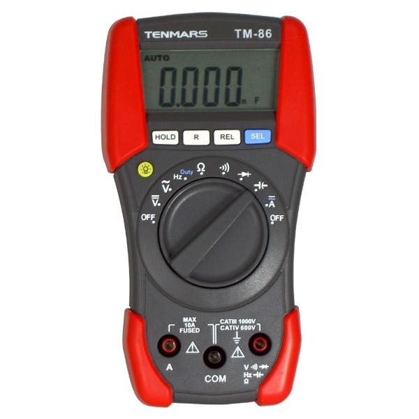 泰玛斯/TENMARS 万用表,三用电表,TM-86
