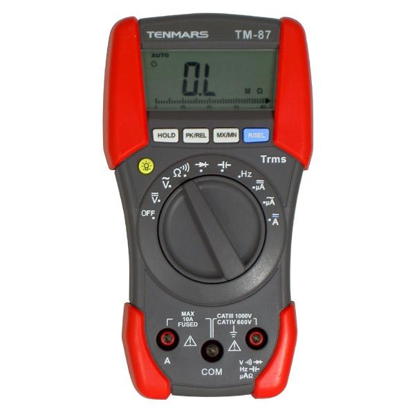 泰玛斯/TENMARS 万用表,三用电表,TM-87