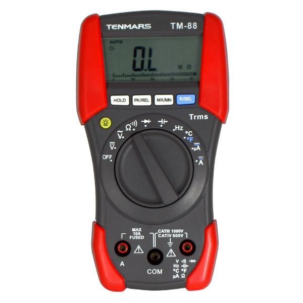 泰玛斯/TENMARS 万用表,三用电表,TM-88