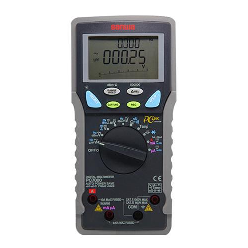 万用表,日本三和 PC Link 数字万用表,PC7000