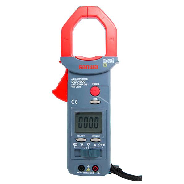 钳形表,日本三和 交流数字钳形表 1000ACA,DCL1000
