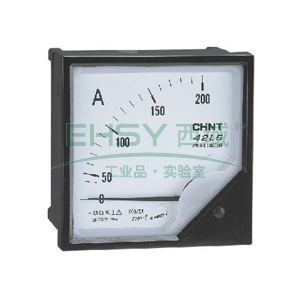 正泰CHINT 42L6-A矩形交流电流表,800A 次级电流:5A 表盘尺寸:120mm,42L6-A 800/5A