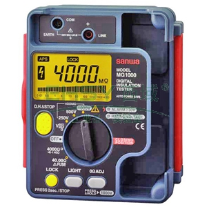 数字兆欧表,三和 数字型绝缘电阻测试仪 带火险状态检测,MG1000