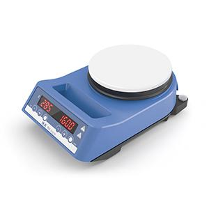 磁力搅拌器,艾卡,RH数显型,带白色陶瓷涂层,速度范围:100-2000rpm,最大搅拌量:15L