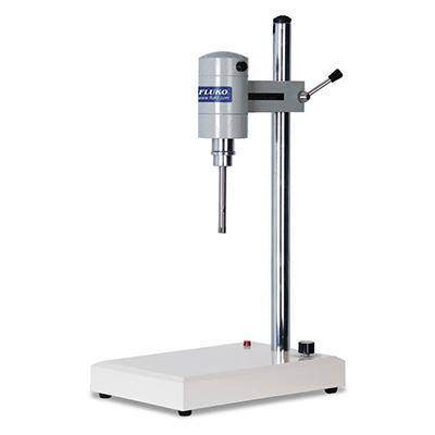 小试型高剪切分散乳化机,FM200A套装,转速范围:200~26000rpm,处理量范围:10~2000ml,弗鲁克