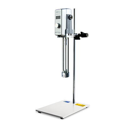 小试型高剪切分散乳化机,FM20数显套装,转速范围:300~11000rpm,处理量范围:150~3000ml,转速显示:数显,弗鲁克