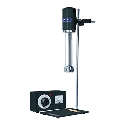 小试型高剪切分散乳化机,FM300套装,转速范围:300~11000rpm,处理量范围:300~5000ml,转速显示:刻度,弗鲁克