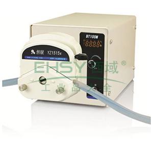 数字转速型蠕动泵 ,BT100M DG-4(6滚轮) 每通道0.06~30ml/min 22W 4 ,创锐
