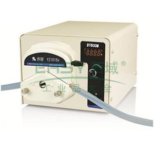 数字转速型蠕动泵 ,BT600M 2×YZ2515x 每同道1.7~1740ml/min 50W 2 ,创锐