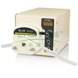 数字分配型蠕动泵 ,BT100FJ DG-4(10滚轮) 每通道0.05~35ml/min 22W 4 ,创锐