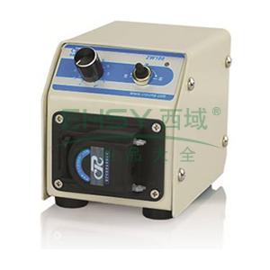 直流微流量蠕动泵 ,ZW100 三滚轮单通道 0.5~36ml/min 0.75 15w,创锐