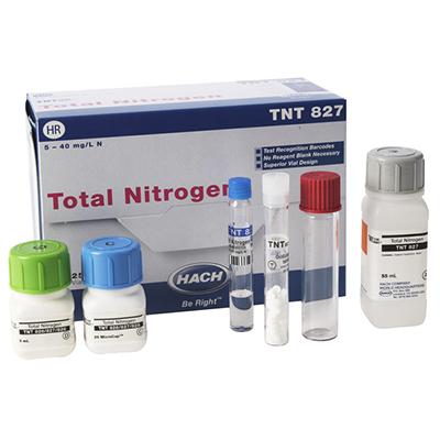 总氮,5-40MG/L PK/25,TNT827,哈希