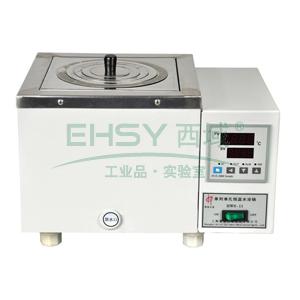 恒温水浴锅,HWS-11,控温范围:RT+5~100℃,公称容积:2.5L,工作室尺寸:150x150x110mm