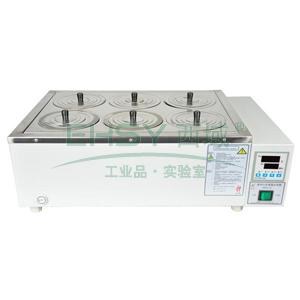 恒温水浴锅,HWS-26,控温范围:RT+5~100℃,公称容积:14.8L,工作室尺寸:450x300x110mm