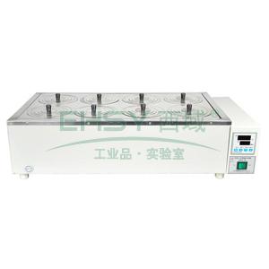 恒温水浴锅,HWS-28,控温范围:RT+5~100℃,公称容积:19.8L,工作室尺寸:600x300x110mm