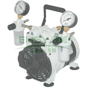 活塞泵,威尔奇,2546C-02,最大真空度:80mbar,流速:38L/min