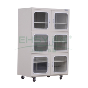 SYSBERY电子防潮箱,智能精密型,SS1436HS,六门,容量:1436L,湿度范围:20~60%RH