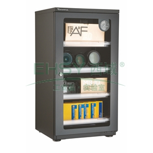 万得福防潮柜,经典系列,AD-096C,控湿范围:30%-60%RH,黑色,除湿容积:90L,推拉托盘:4个
