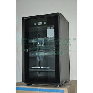 万得福防潮柜,经典数显系列,AD-051CHi,控湿范围:30%-60%RH,黑色,经典数显,除湿容积:50L,推拉托盘:3个