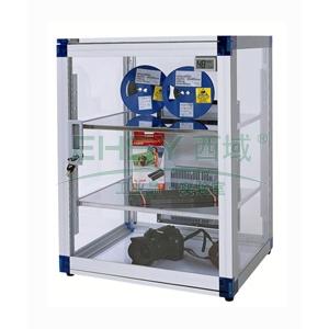 防潮柜,万得福,透明树脂系列,ALD-070S,控湿范围:20%-55%RH,除湿容积:70L,不锈钢层板:2个