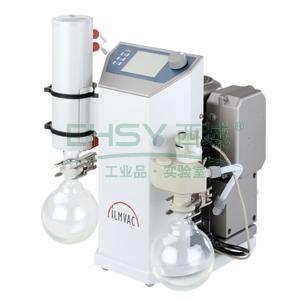 实验室真空系统,伊尔姆,LVS 210 T,抽吸速度:30L/min,极限压力:<2mbar,带自动流量控制器