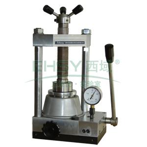 粉末压片机,手动型,最大压力:15吨,快速顶升,自动复位,FY-15