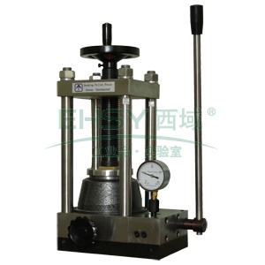 粉末压片机,手动型,最大压力:24吨,快速顶升,自动复位,FY-24