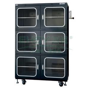 氮气柜,希斯百瑞,全自动,SS1436NSF,容积:1436L六门,湿度范围:1~60%RH,防静电
