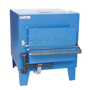 箱式电阻炉,Sx2-4-10,额定温度:1000℃,额定功率:4Kw,炉膛尺寸:300x200x120mm